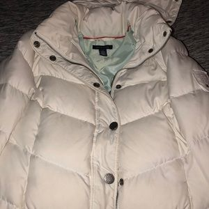 Extra small Tommy Hilfiger white winter jacket